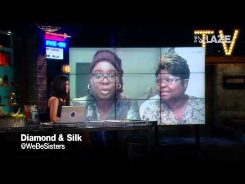 nightline video sisters diamond silk stump trump