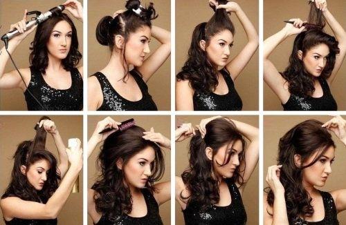 Ежедневные прически для длинных волос: как заставить волосы слушаться. Фото
