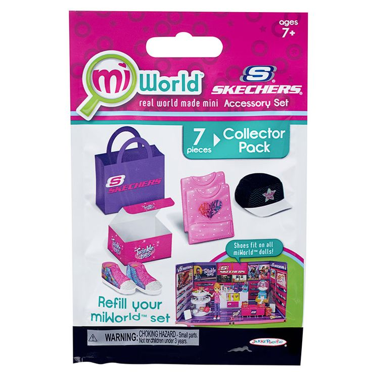 MiWorld Skechers Shoe Store Collector Pack - I have this set.