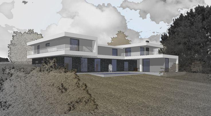 sketch of family house by Viktor