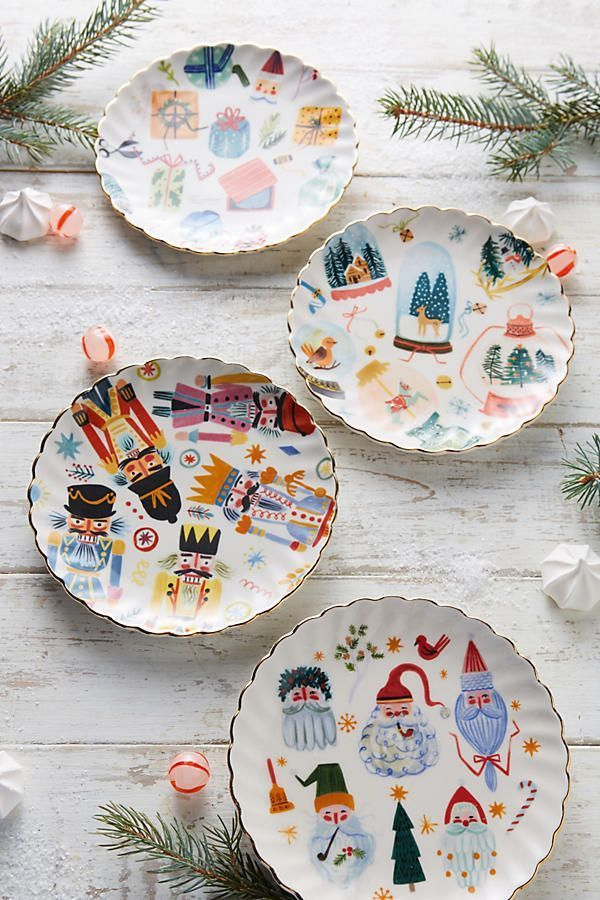 Noel canape plate pinterest shops canapes and plates for Christmas canape plates