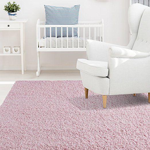 Amazon.com: iCustomRug Affordable Shaggy Rug Dixie Cozy & Soft Kids Shag Area Rug Solid Color Grey, For Children's Play Area, Bedroom or Nursery Carpet 5 Feet x 7 Feet (5' x 7'): Kitchen & Dining