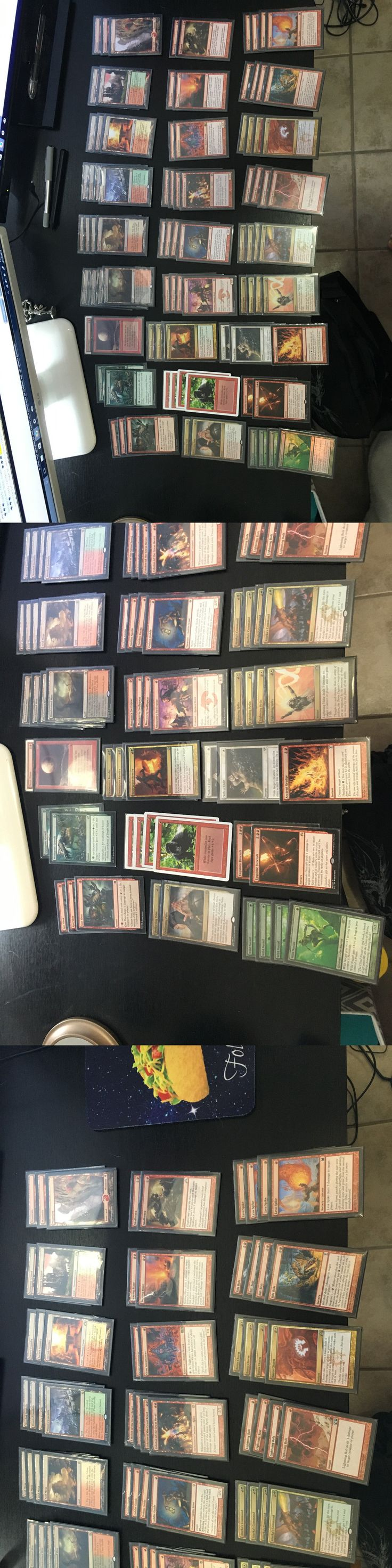 MTG Player-Built Decks 49196: Magic The Gathering Naya Burn Deck Mtg Modern Deck Magic Starter Deck Tier 1 -> BUY IT NOW ONLY: $500 on eBay!