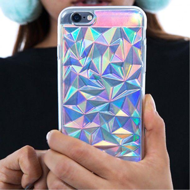 Wheretoget - Hologram crystal phone case