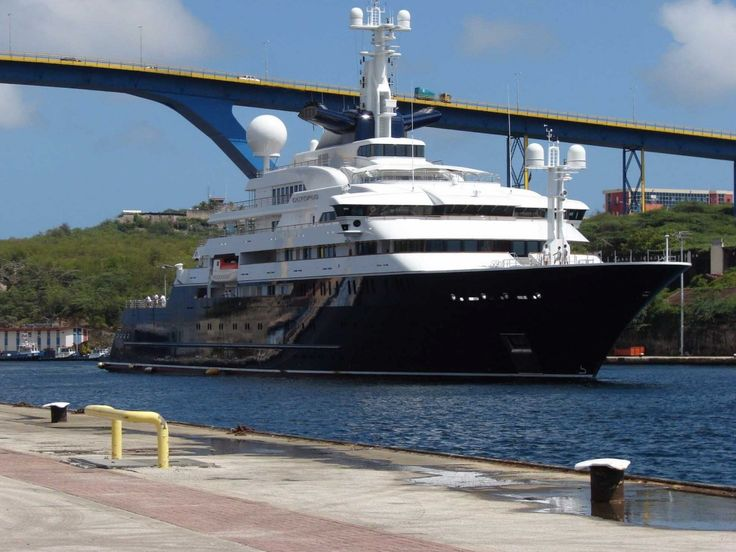 $200 MILLION: Microsoft co-founder Paul Allen owns a 414-foot yacht dubbed the Octopus. It has 41 suites and cost a whopping $200 million to build. The Octopus comes with a pool, two helicopters, and a movie theater. If that's not enough, there's also a basketball court and recording studio.