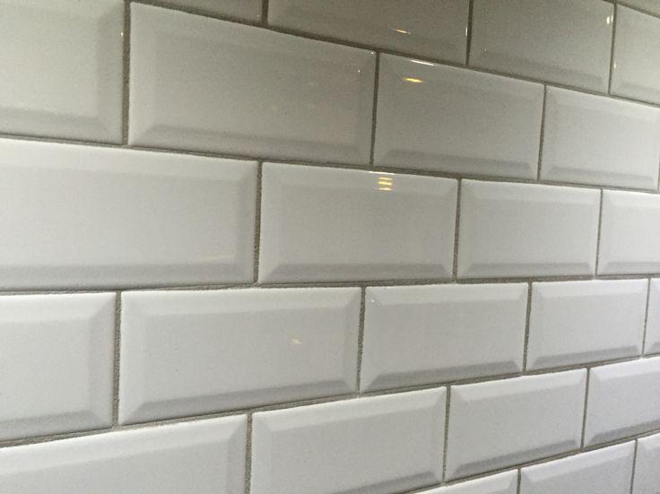 Metro tegels Wit