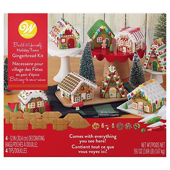 Wilton BuilditYourself Gingerbread Village Decorating
