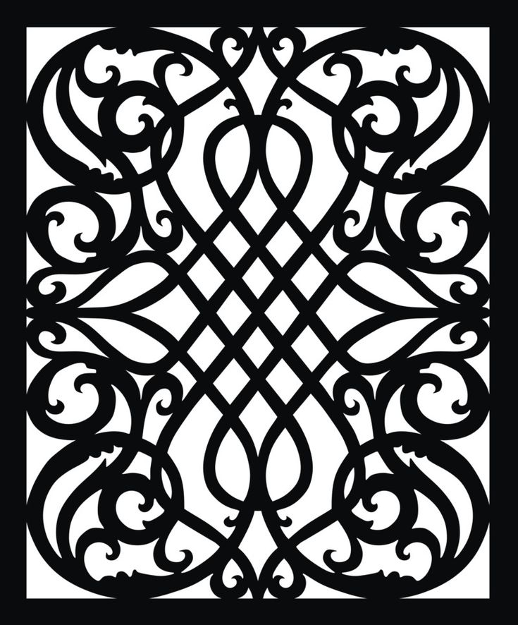 FREE PATTERNS > Scroll saw and fretwork vector patterns