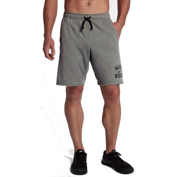 Nike Men's Dry Baseball Shorts, Size: Medium, Gray