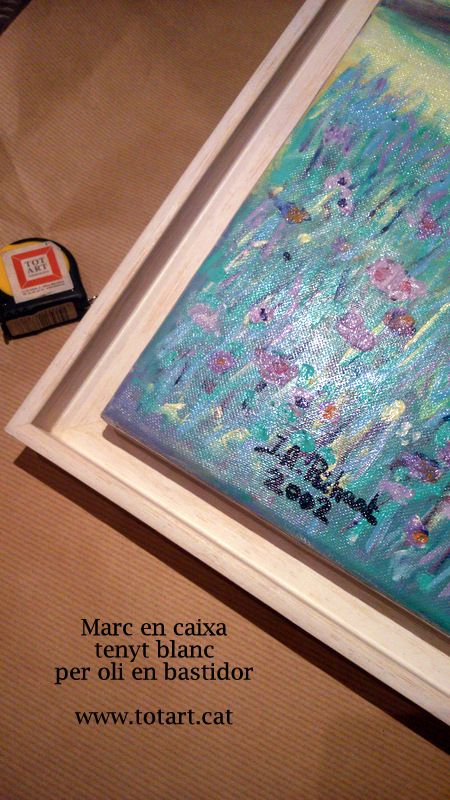 M s de 25 ideas incre bles sobre marcos para cuadros en - Como enmarcar un lienzo ...