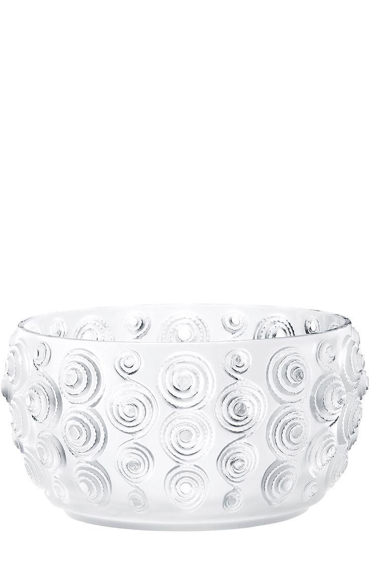 Lalique Ваза для фруктов Spirales Бесцветный 406 920 Р.