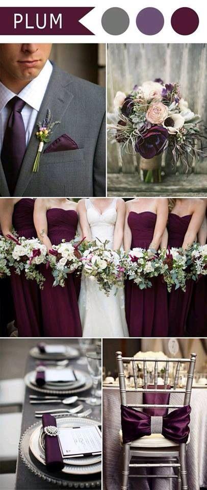 Decoração de casamento -vinho/marsala