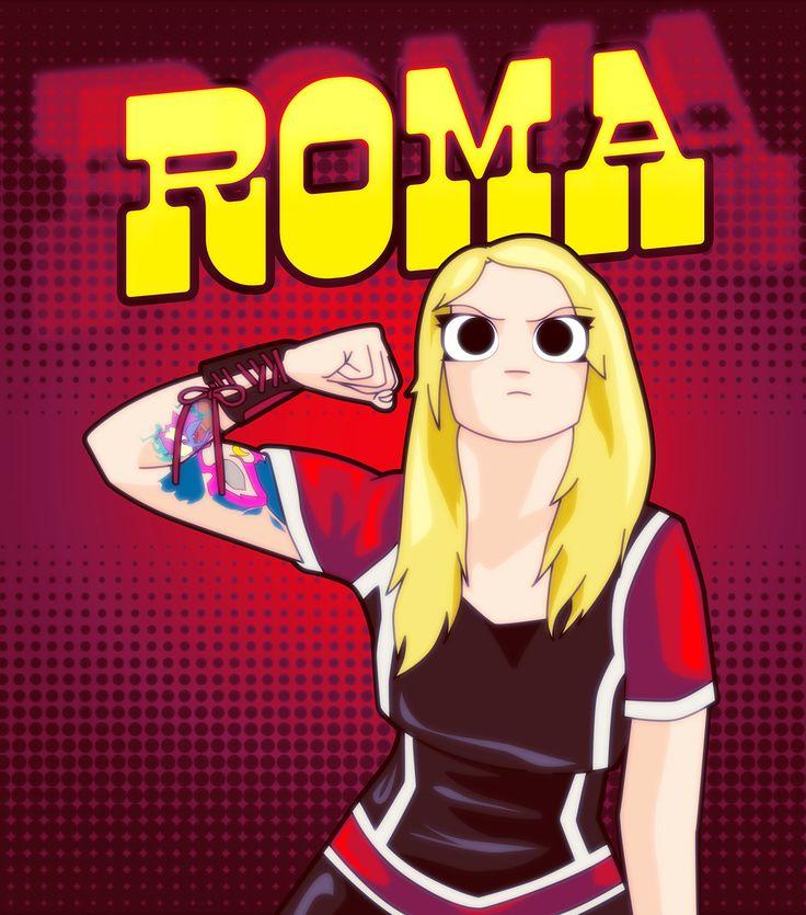 Roma VS El mundo. Fan Art CNL on Behance
