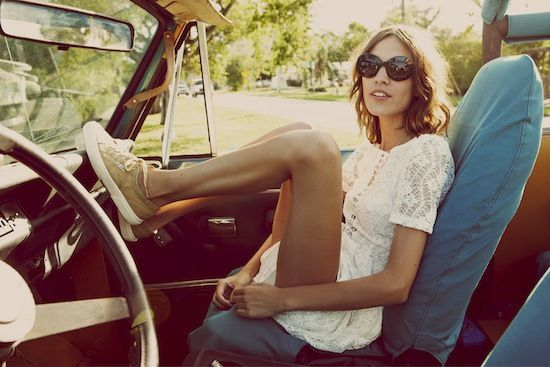 SneakersShoes, Fashion, Summer Style, Style Icons, Roads Trips, Alexachung, Sneakers, Alexa Chung, Lace Dresses