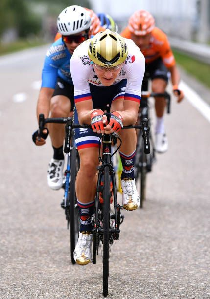 Matej Mohoric of Slovenia and Team Bahrain Merida   during the 14th  BinckBank Tour 2018 Stage 3 a1749km stage from Aalter to Antwerpen   BBT    on. 069b98e3a