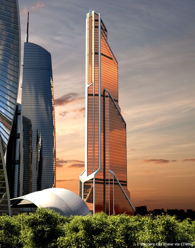 Mercury City Tower, Moscow, Russia. - City Landscapes