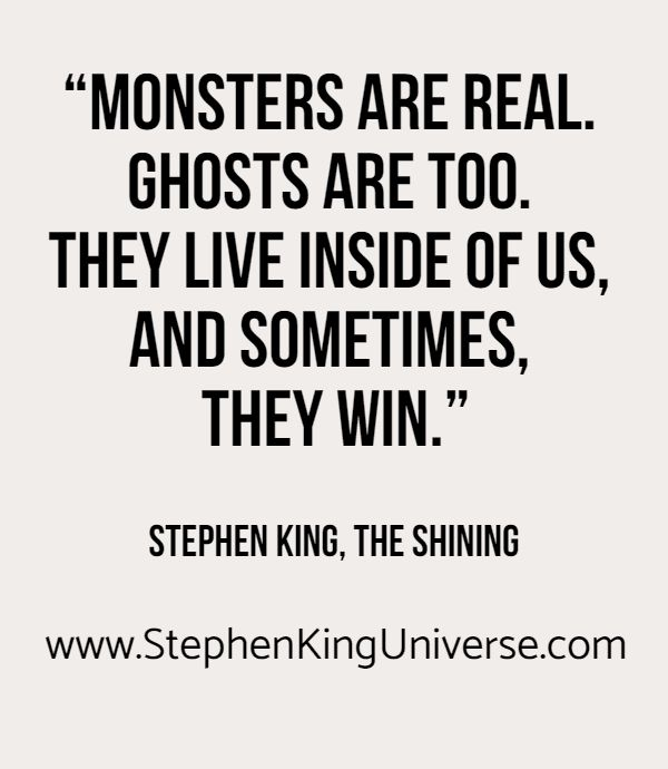 The Stephen King Universe is a website/blog dedicated to the author, Stephen King, as well as his family of writers, Joe Hill, Owen King, Tabitha King, and Kelly Braffet. #StephenKing