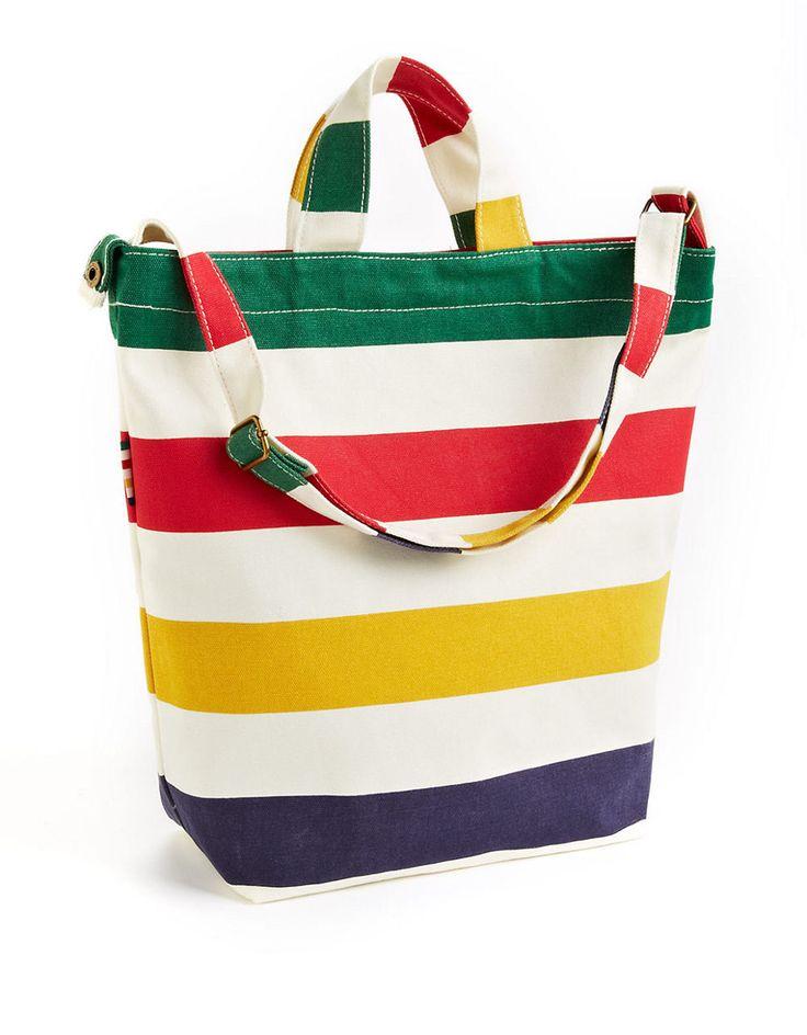 HBC Collection | Granville Duck Bag | Hudson's Bay #StripeSpotting