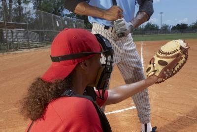 Fastpitch Softball Catcher Drills