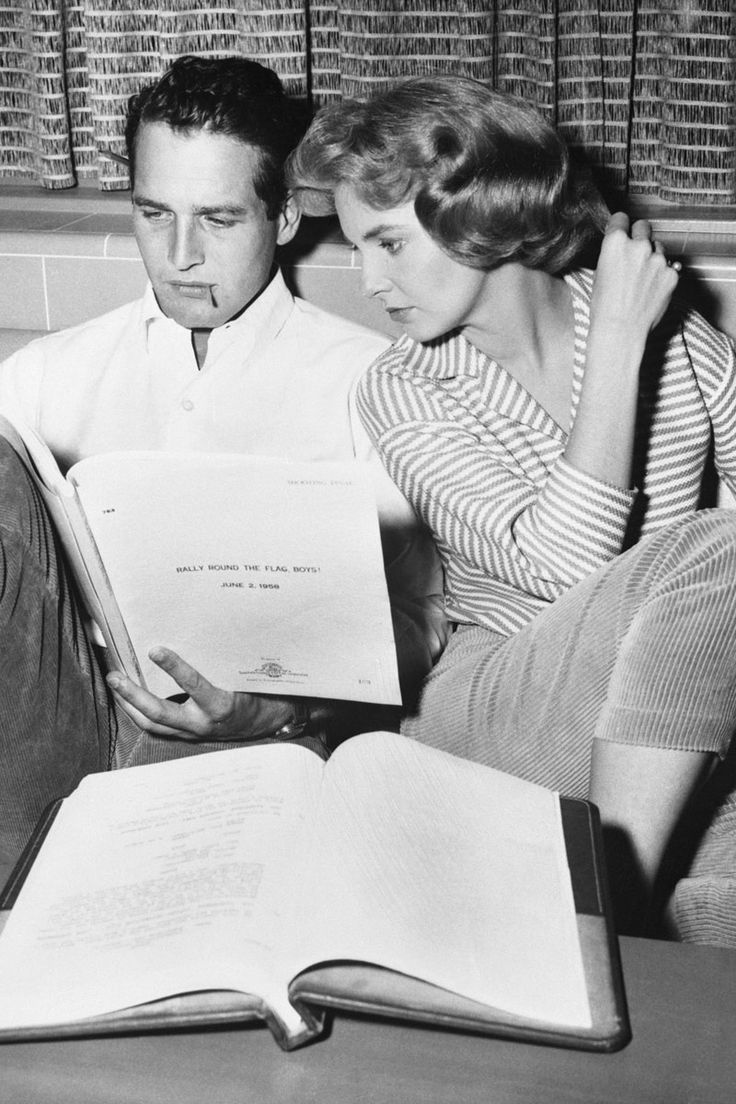 Parejas iconicas de la historia para celebrar San Valentin: Joanne Woodward y Paul Newman