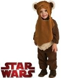 """Star Wars Deluxe Baby Ewok E-Wok Costume Infant 6-12m - #halloween #halloweencostumes #costumes -   Includes: Romper, headpiece.. Not Included: Shoes.  Brand new Authentic licensed Star Wars standard Ewok costumeChild Size Infant (6-12) approx 19""""-20"""