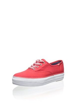 29% OFF Keds Women's Triple Fashion Sneaker (Red)