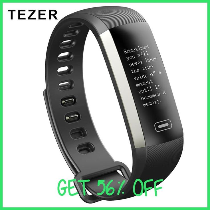 TEZER R5MAX smart Fitness Bracelet Watch intelligent 50 word Information display blood pressure heart rate monitor Blood oxygen