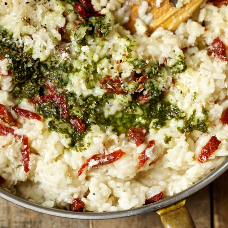 Sun-Dried-Tomato and Pesto Risotto | Food & Wine