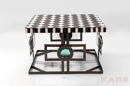 13 best monochrome bliss dark chalet images on pinterest for Kare design tisch bijou steel