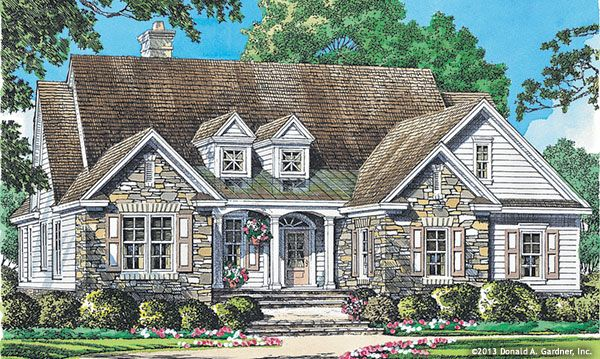 176 best two story home plans images on pinterest for Brodie house plan