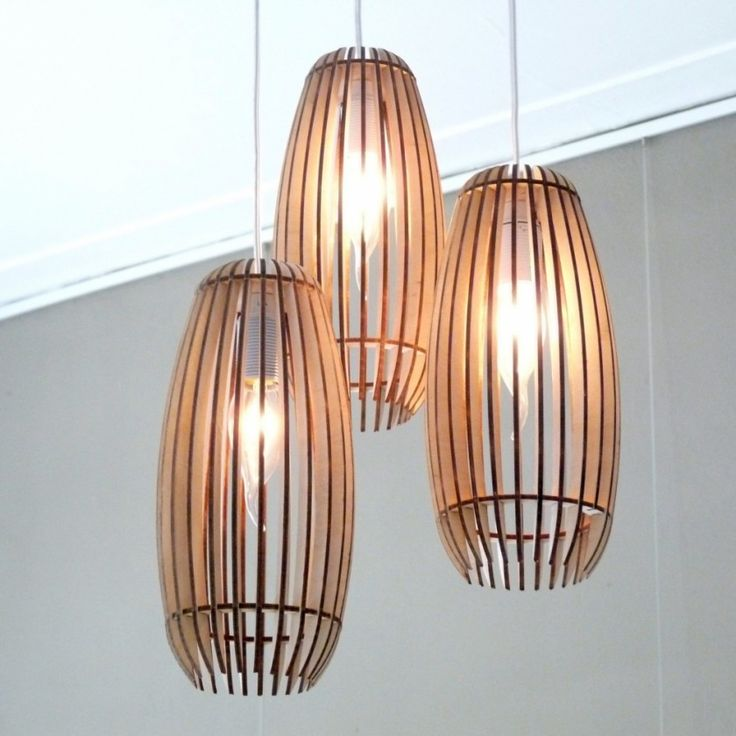 Woodshades - Lamello 3 Serie - houten lamp - Markita.nl