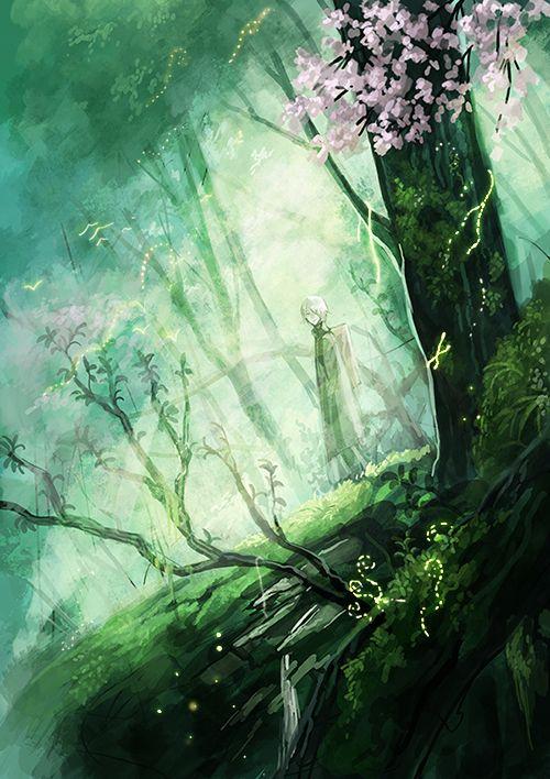 Mushishi | Artland | Yuki Urushibara / Ginko / 「蟲師ログまとめ」/「村」のイラスト [pixiv] [02]