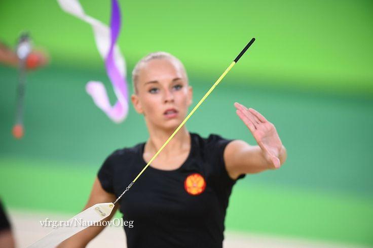 Yana Kudryavtseva (Russia), backstage Olympic Games 2016