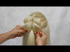 Peinado para 15 años Semirecogido o Peinado para Primera Comunión by Belleza s…