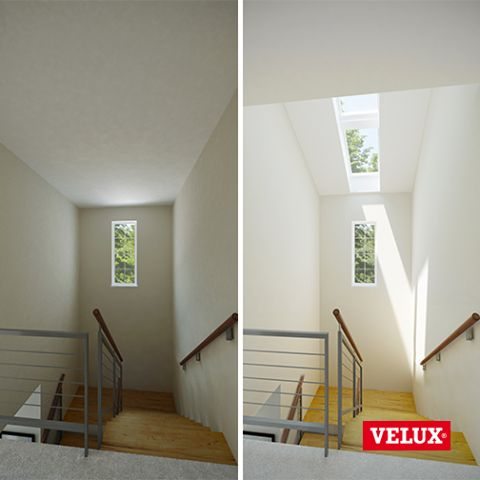 Increase the natural daylight in any room with a VELUX roof window, with free delivery at Sterlingbuild.co.uk