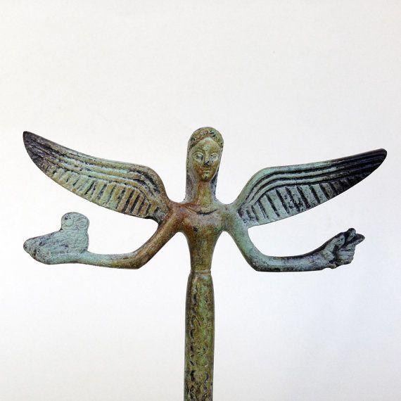 Victory Statue Greek Nike Bronze Sculpture Metal by GreekMythos