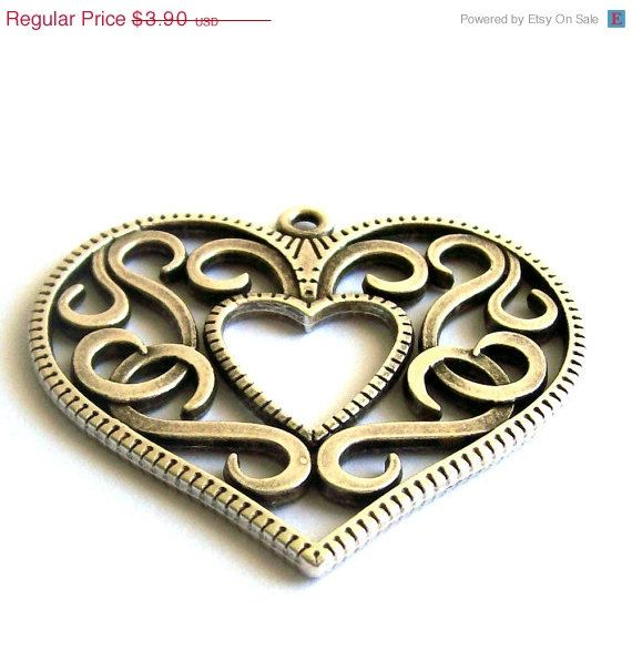 Until February 2nd, 20% sales on all metal pendants and jewelry findings