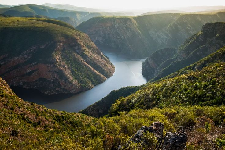 Early morning view over the Kouga dam, Baviaanskloof, South Africa. Photo by Joggie van Staden