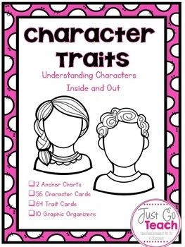 Character Traits: Cards And Organizers  Positive Character Traits