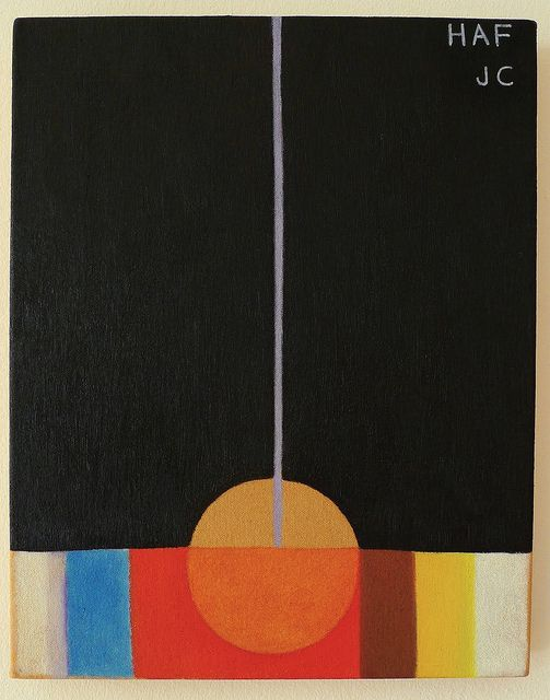 Swedish Hilma af Klint, now receiving recognition as the first abstract artist before Kandinski.
