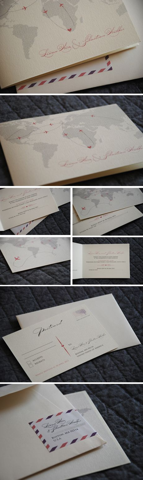 Elegant cream paper stock, fancy fonts and soft colours – sophisticated and romantic.Loko Litumbe