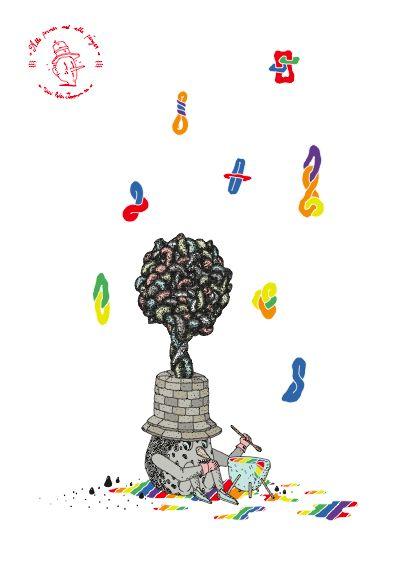 """Alla former, alla färger"" by Peter Jeppson. Available at: http://www.arrivals.se/product/alla-former-alla-färger-återvinnsverige #art #affordable #affordableart #arrivals #solidarity #återvinnsverige"