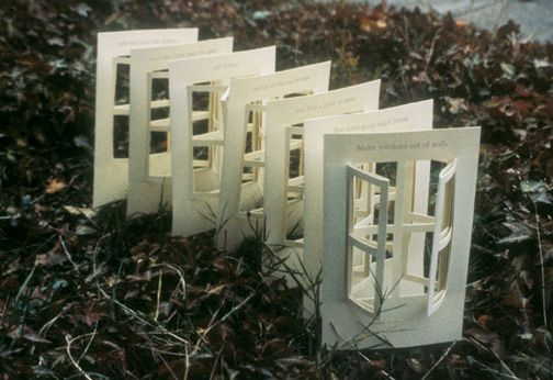 Kate Leonard's book Windows Out of Walls