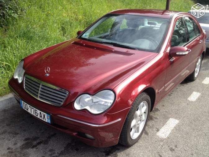 Mercedes classe c 240 élégance 58700 KM