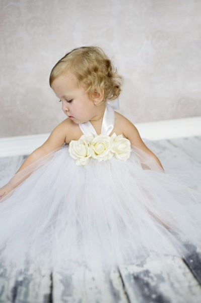 Rose Christening Tutu Gown... For my girls