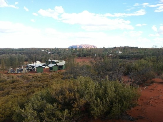 Permanent campsite near Uluru (Ayers Rock) used on these tours http://realaussieadventures.com/tours/northern-territory/alice-springs/3-day-4wd-goanna-dreaming-red-centre-tour/ and http://realaussieadventures.com/tours/northern-territory/alice-springs/5-day-4wd-kangaroo-dreaming-red-centre-tour/