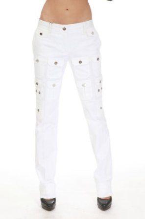 BX2 DOLCE WOMEN PANTS WHITE F3KKET Sz 44,42,40 null. $79.95