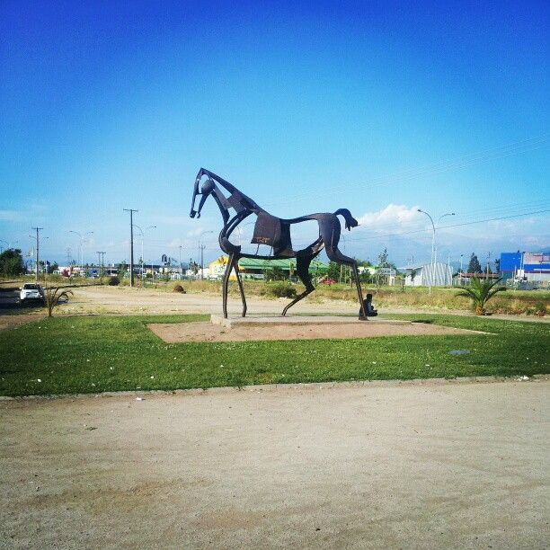 Llegando a mi ciudad de Rancagua de Chile