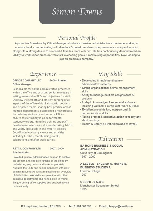 Best Word Template Cv  Resume Designs Images On   Cv