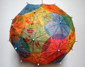 funsies cocktail umbrella pendant lamp shade by allison patrick